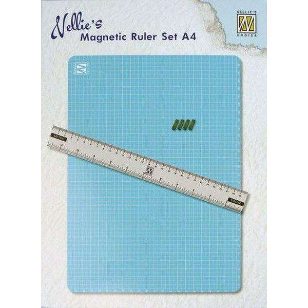 Nellie´s Choice Tools Magnetic Ruler Set A4