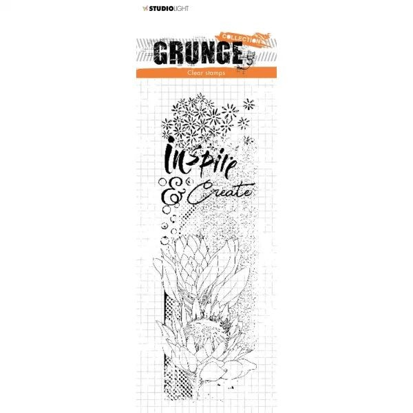 Studio Light Grunge Collection Clearstamps No. 496