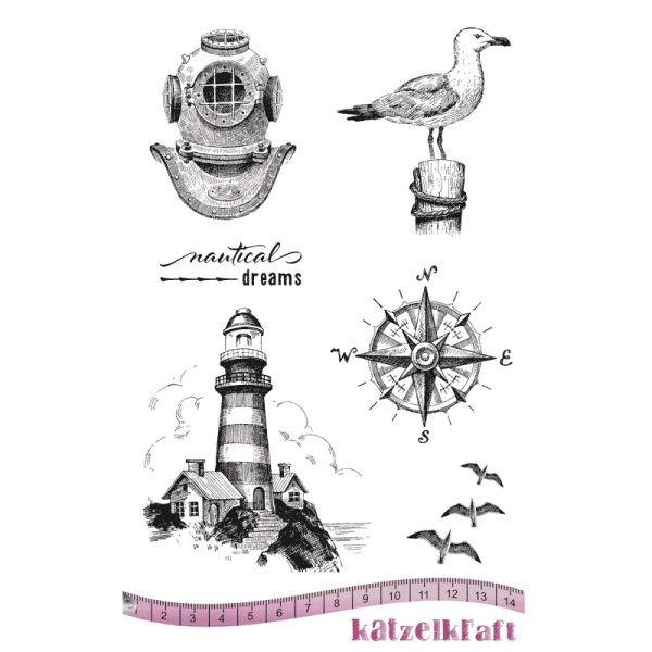 Katzelkraft Tampon A5 Nautical Dream