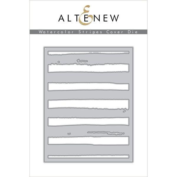 Altenew Dies Watercolor Stripes Cover