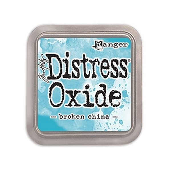 Tim Holtz Distress Oxide Pad Broken China
