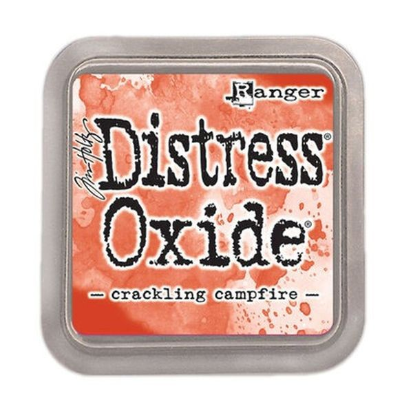 Tim Holtz Distress Oxide Pad Crackling Campfire