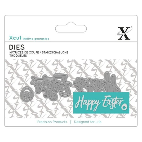 Xcut Mini Sentiment Dies Happy Easter