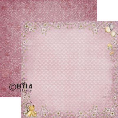 Bildmalarna Welcome Baby Pink 12x12