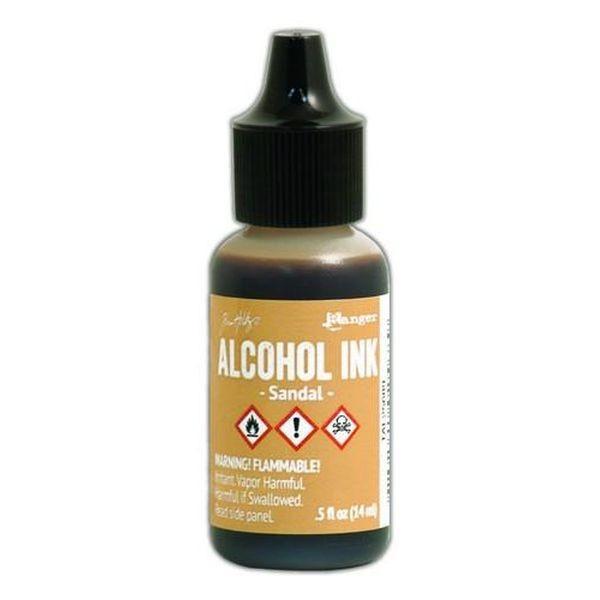 Tim Holtz Alcohol Ink Sandal