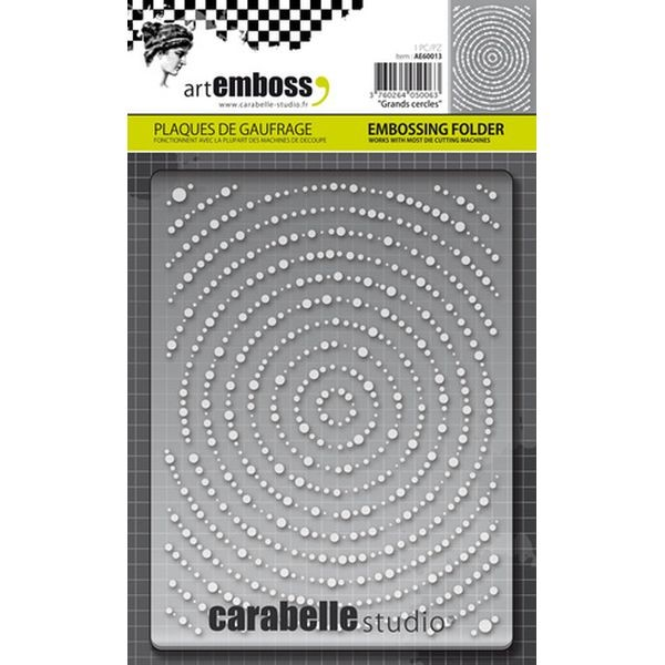 Carabelle Studio Embossingfolder Grands Cercles