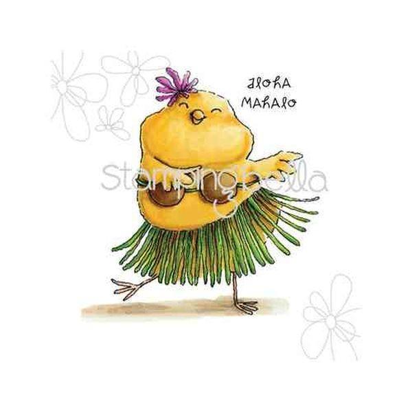 Stamping Bella Hula Chick