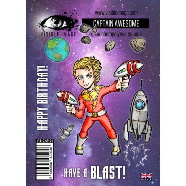Visible Image Captain Awesome
