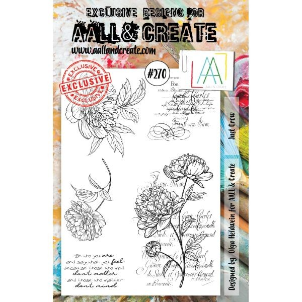 AALL & Create Clearstamps A5 No. 270 Just Grow