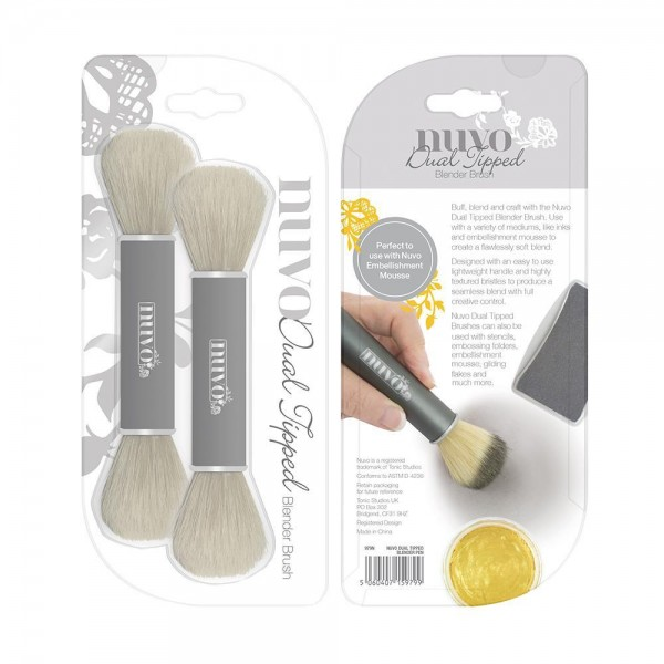 Nuvo Dual Tipped Blending Brushes
