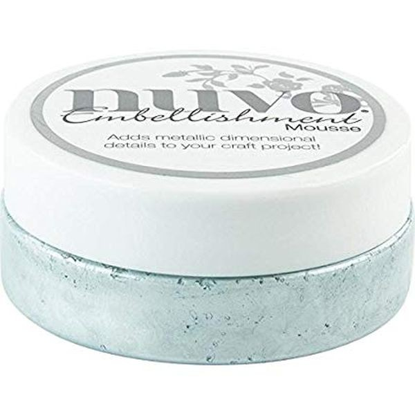Nuvo Embellishment Mousse Powder Blue