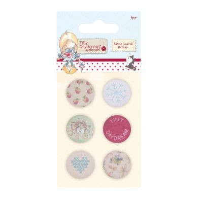 Tilly Daydream Fabric Covered Buttons