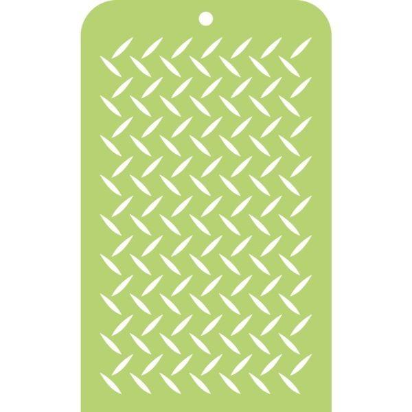 Kaisercraft Mini Designer Template Checker Plate