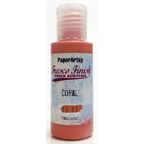 Fresco Finish 12 Coral Pinks Coral - Translucent