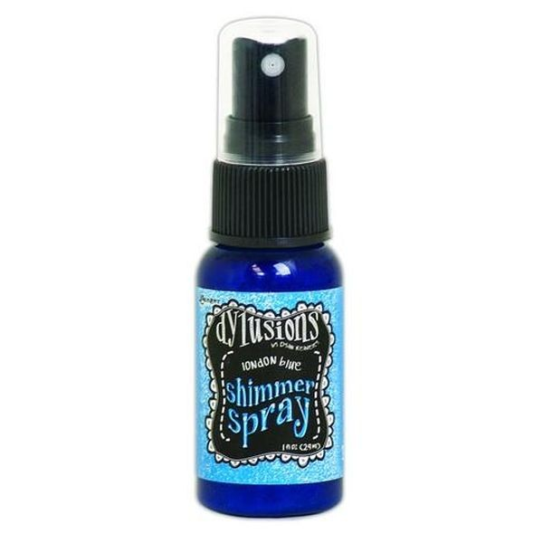 Dylusions Shimmer Spray London Blue
