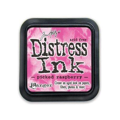 Distress Ink Mini Pad Picked Raspberry