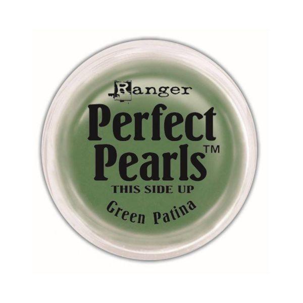 Perfect Pearls Pigment Powder Green Patina