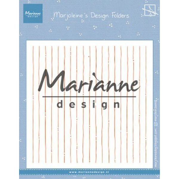 Marianne D Embossingfolder Marjoleine´s Stripes