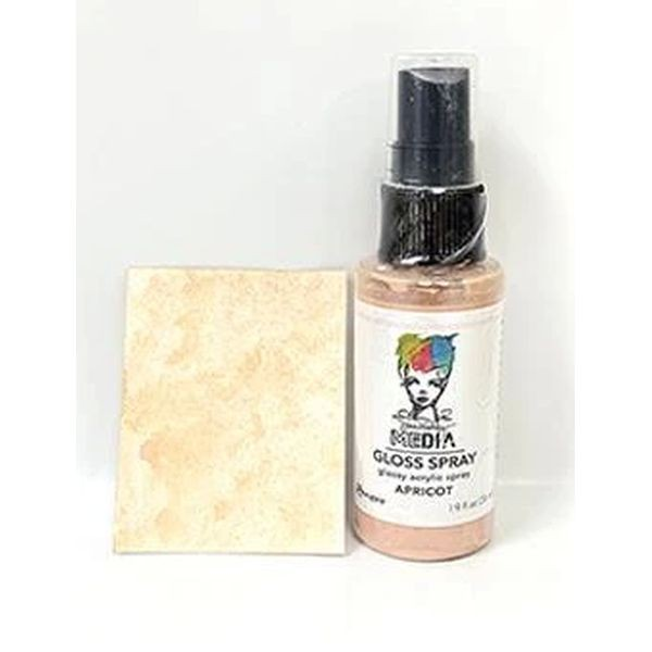 Dina Wakley Media Gloss Spray Apricot
