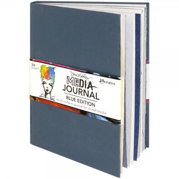 Dina Wakley Media Journal Blue Edition 7.75 x 10.25
