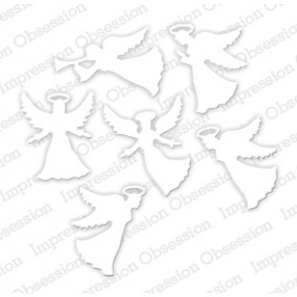 Impression Obsession Die Small Angel Set