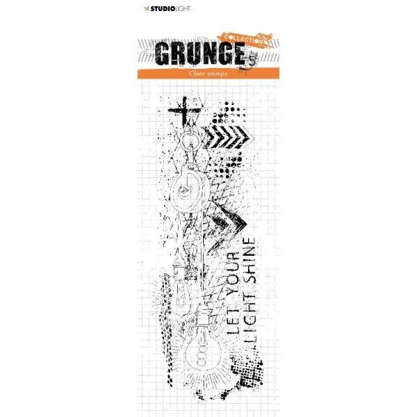 Studio Light Grunge Collection Clearstamps No. 494