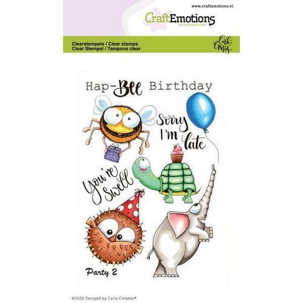Craft Emotions Clearstamps Party II