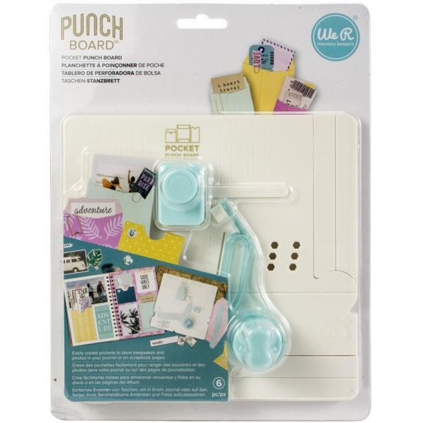WeR Memory Keepers Pocket Punch Board