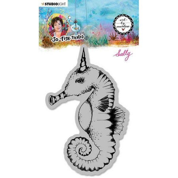 Studio Light by Marlene So-Fish-Ticated Clingstamps No. 16 Sally