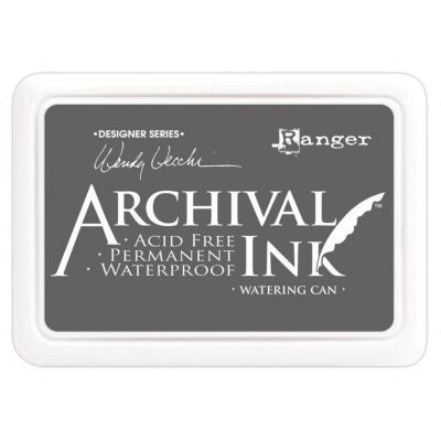 Ranger Archival Ink Pad by Wendy Vecchi Watering Can