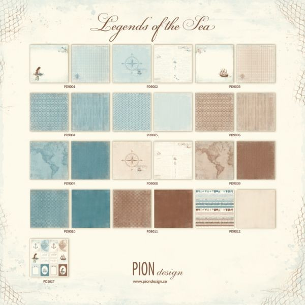 Pion Design Legends of the Sea Complete Collection