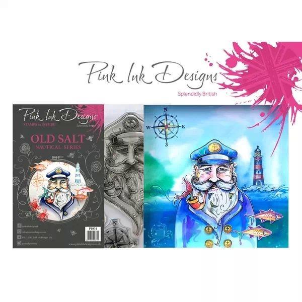 Pink Ink Designs Clearstamp Set Old Salt