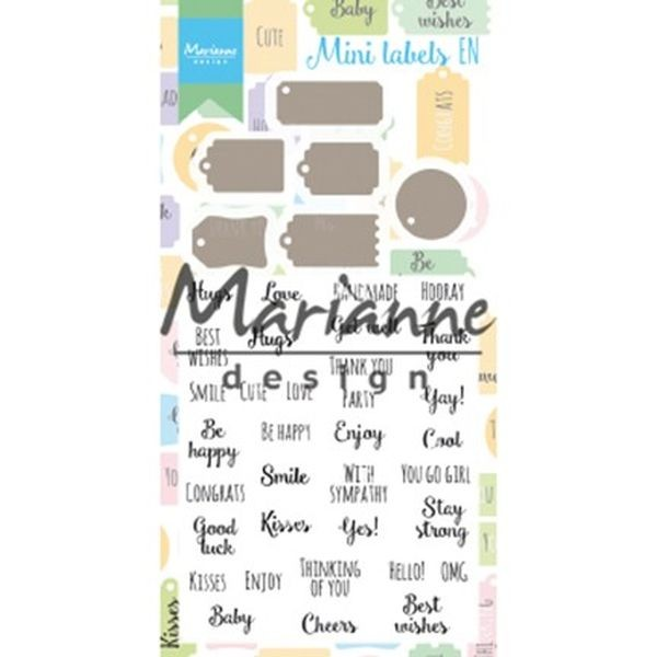 Marianne D Clearstamps & Dies Mini Labels