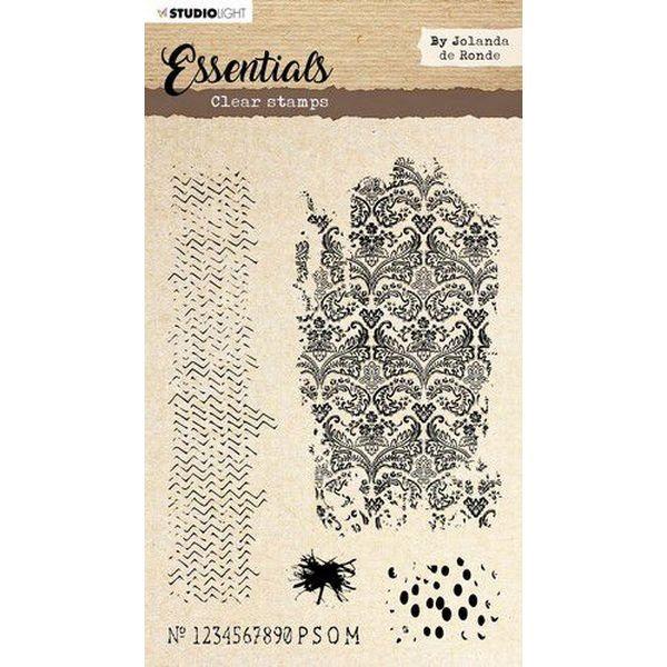 Studio Light Essentials Clearstamps A5 by Jolanda de Ronde No. 03