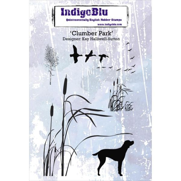 Indigo Blue Clingstamps Clumber Park