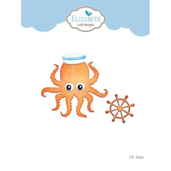 Elisabeth Craft Designs Die Octopus