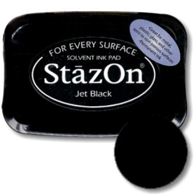 Staz on Pad Jet Black