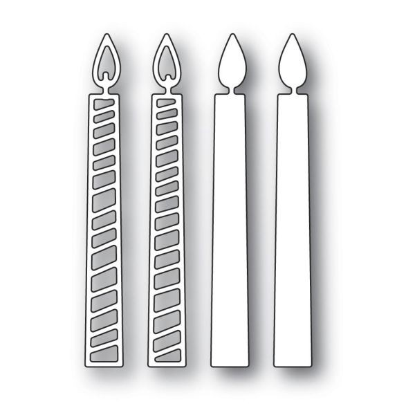 Memory Box Die Tall Birthday Candles