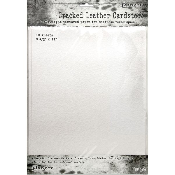 Tim Holtz Distress Cracked Leather Cardstock 8.5 x 11