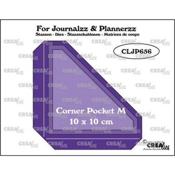 CreaLies Jouranlzz & Plannerzz Pocket Corner M