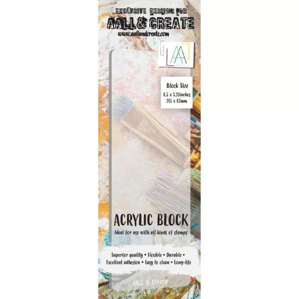 AALL & Create Flexible Acrylic Block Border