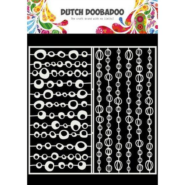 Dutch Doobadoo Mask Art Slimline Groovy Circles