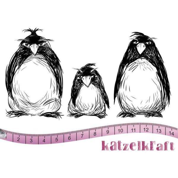 Katzelkraft Tampon A6 Les Pingouins Grumpy