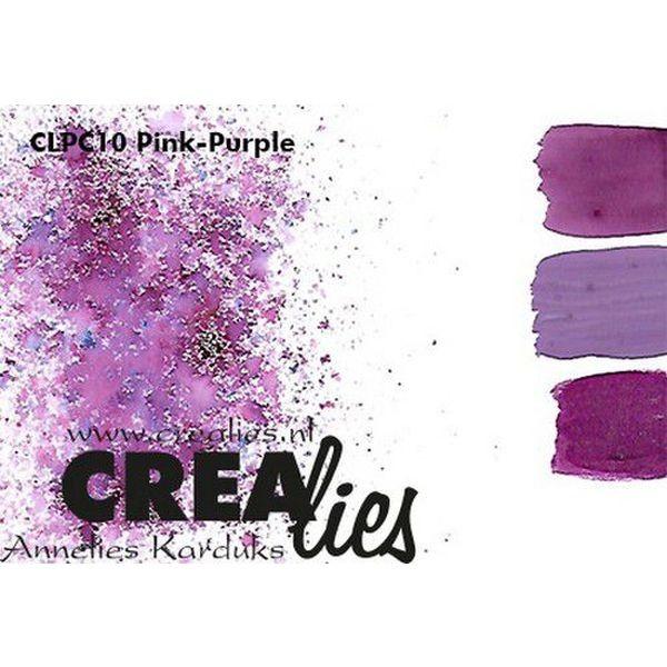 Crealies Pigment Colorzz Pink-Purple