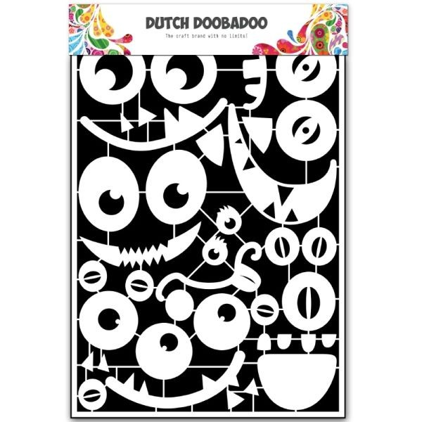 Dutch Doobadoo Paper Art A5 Monsters