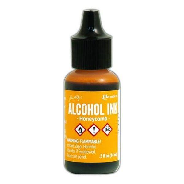Tim Holtz Alcohol Ink Honeycomb