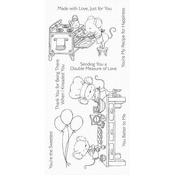 MFT Bundle Clearstamps & Dies Sweet Shop