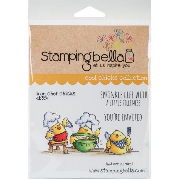Stamping Bella Iron Chefs Chicks