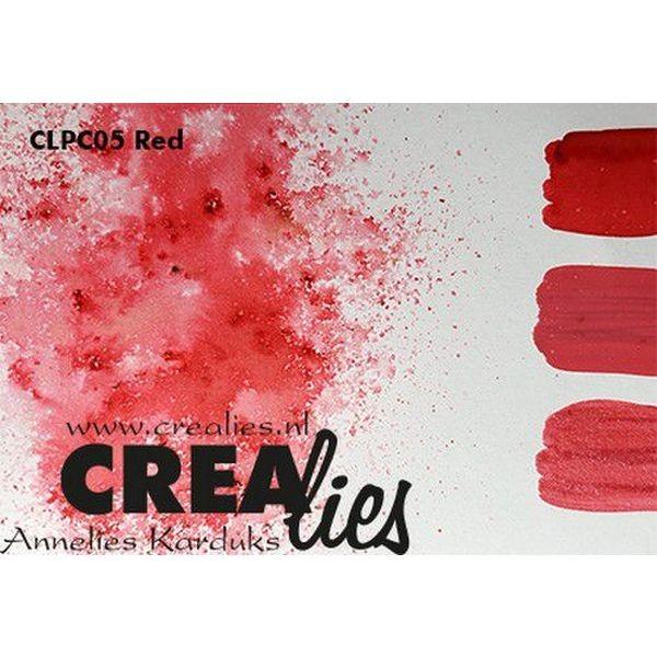 Crealies Pigment Colorzz Red