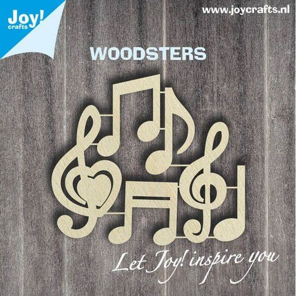 Joy! Crafts Woodsters Music Notes